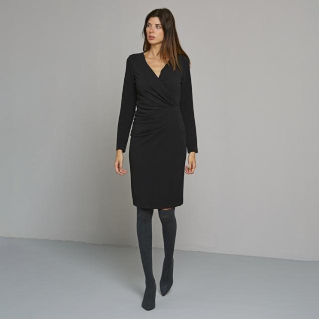 Rochie VAN-DOS negru