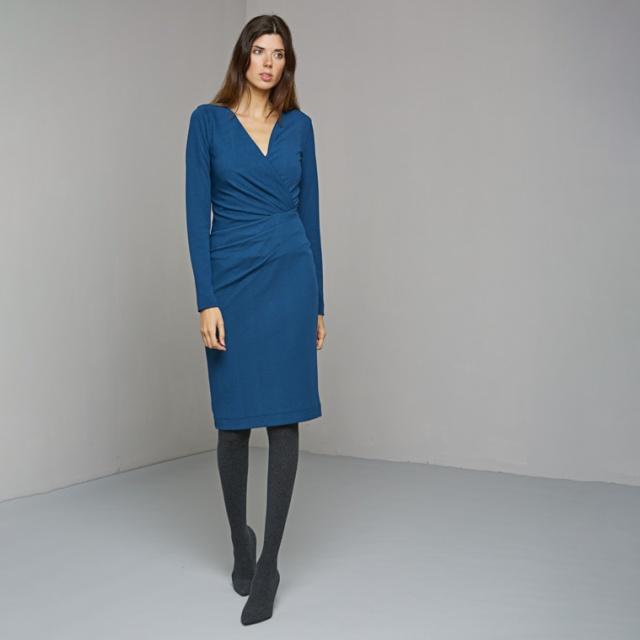 Rochie VAN-DOS albastru
