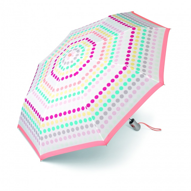 Umbrelă automată Easymatic Light Happy Dots