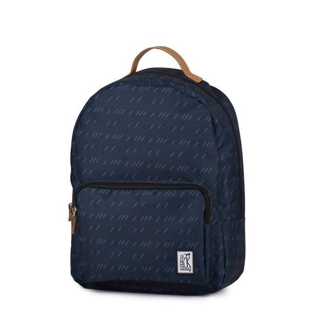 Rucsac clasic The Pack Society Dark Blue Stripe