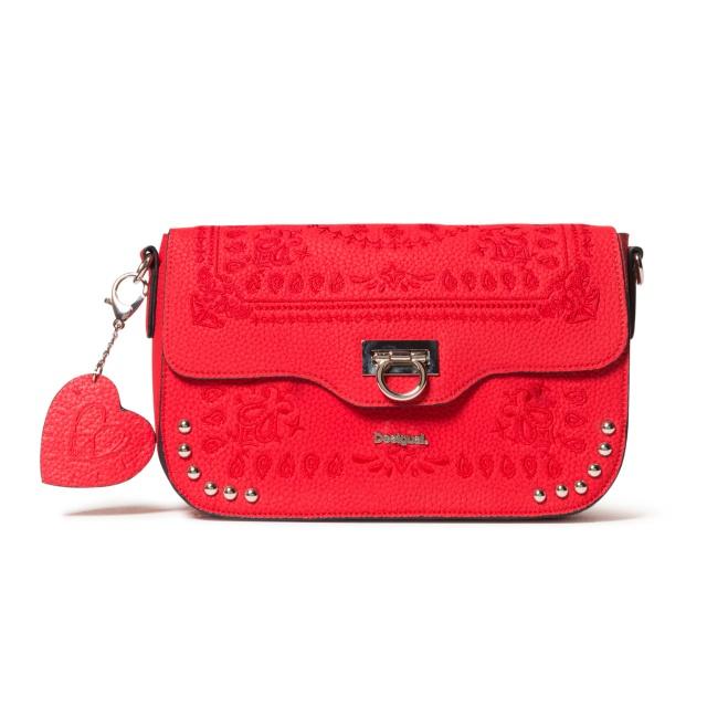 Geantă de damă Desigual Bandana Amorgos roșu