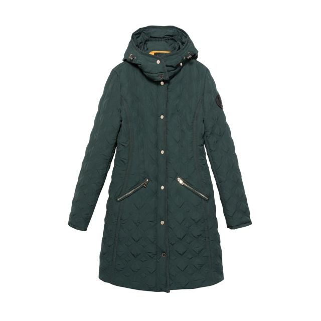 Geacă pentru femei Desigual Padded Leicester smarald :: 40