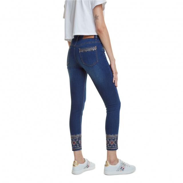 Pantaloni Desigual Denim Floyer :: 28