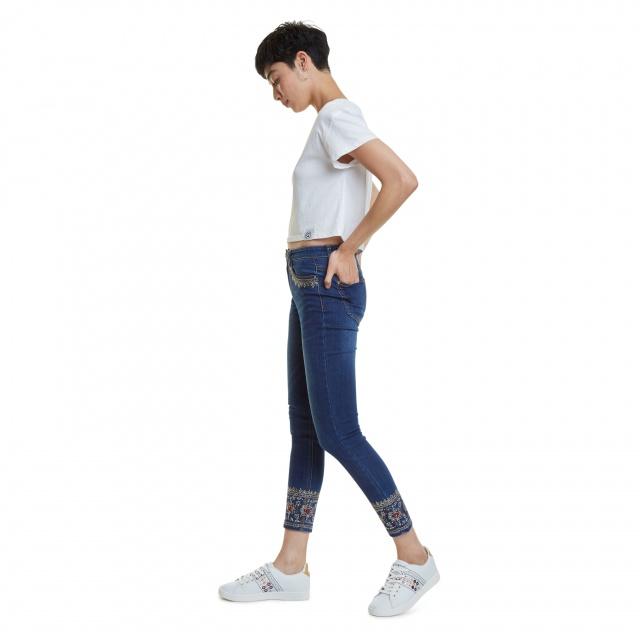 Pantaloni Desigual Denim Floyer