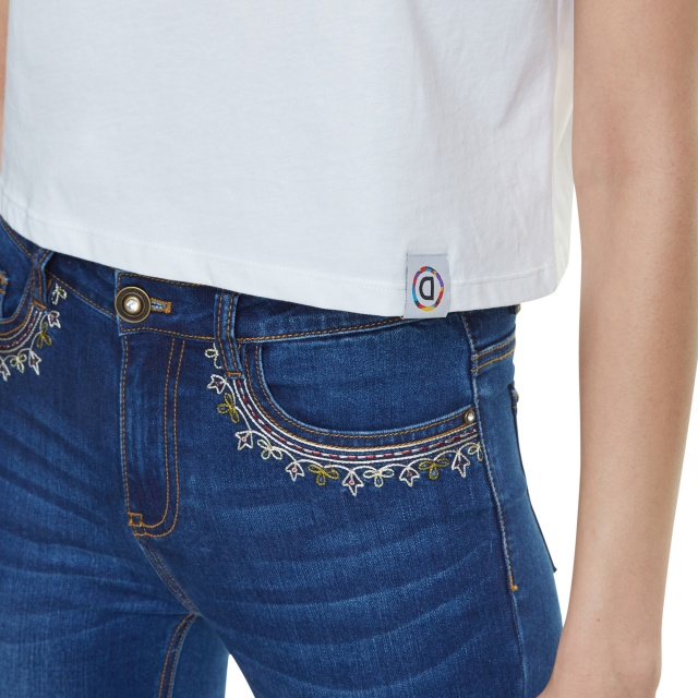 Pantaloni Desigual Denim Floyer :: 30
