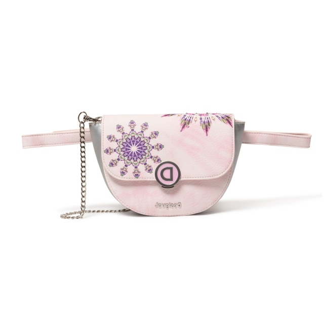 Borsetă Desigual Luna Rock Nyon, roz