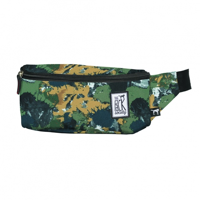 Borsetă The Pack Society Green Camo