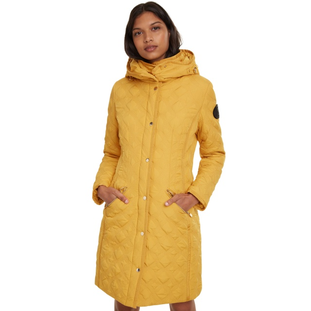 Geacă pentru femei Desigual Padded Leicester galben :: 46