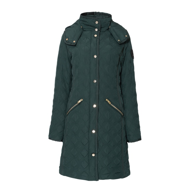 Geacă pentru femei Desigual Padded Leicester smarald :: 46