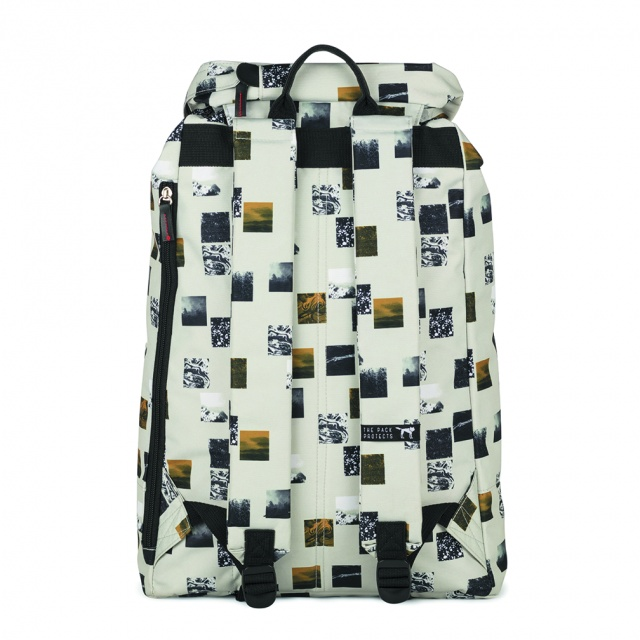 Rucsac mare The Pack Society Beige Blocks