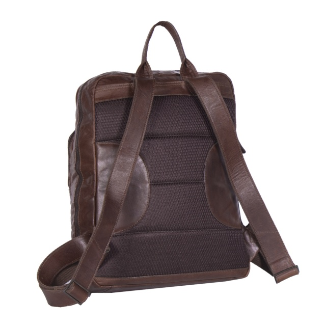 Rucsac The Chesterfield Brand Brown Maci