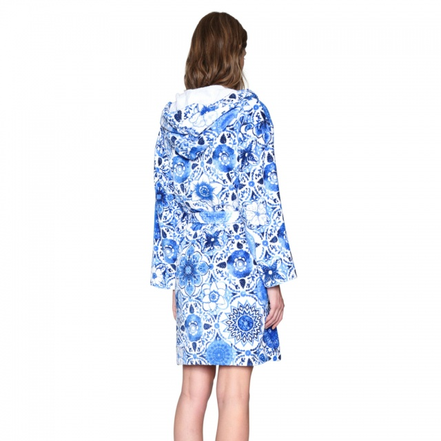 Halat de baie Desigual Think in Blue :: M