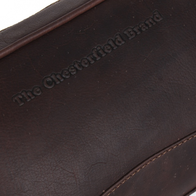 Geantă cosmetică The Chesterfield Brand Brown Stacey