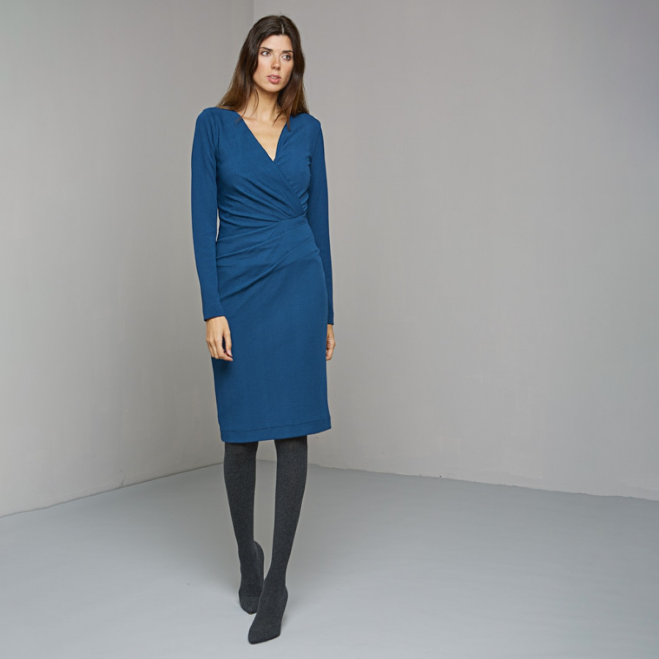 Rochie VAN-DOS albastru :: 42