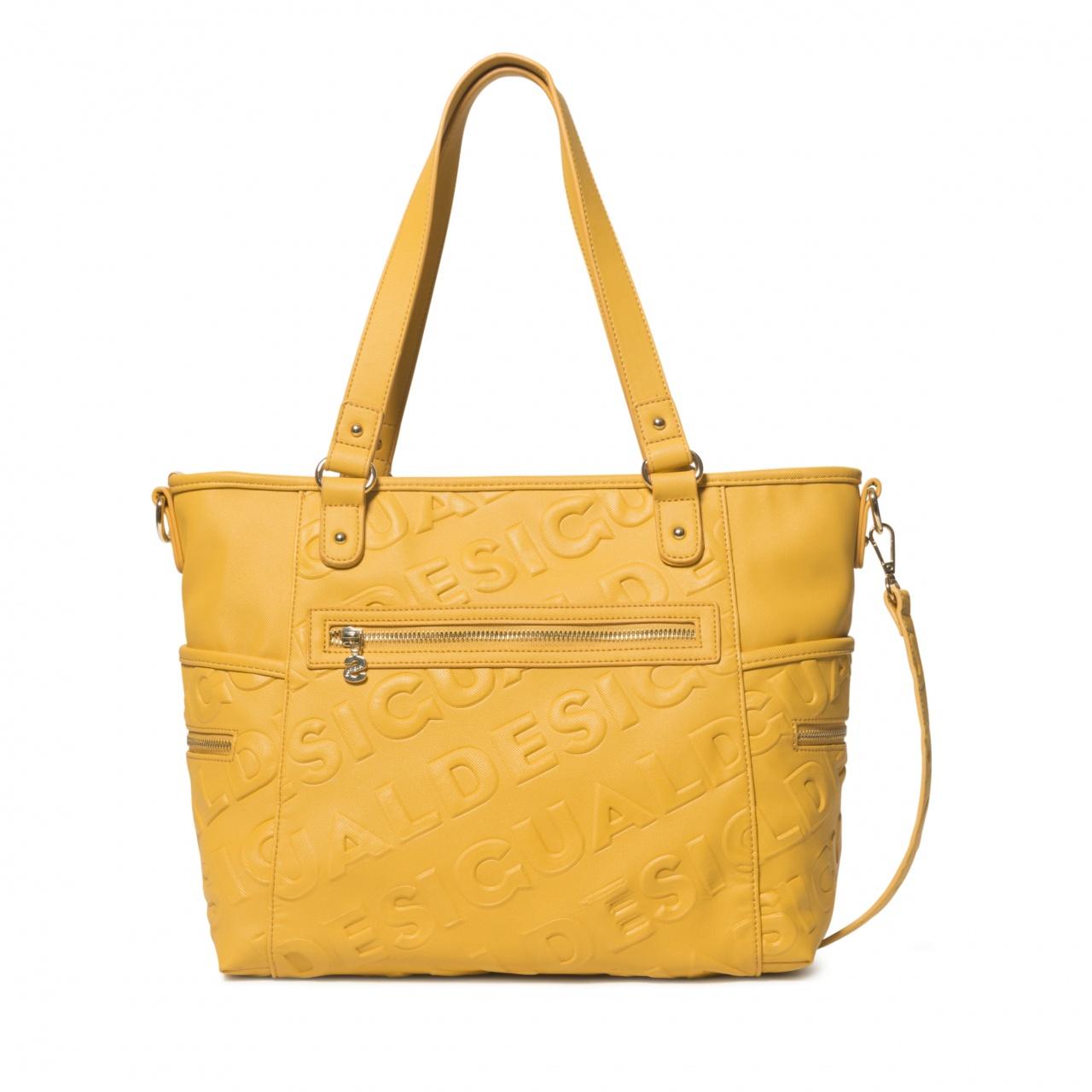 Geantă de damă Desigual Colorama Maxton galben