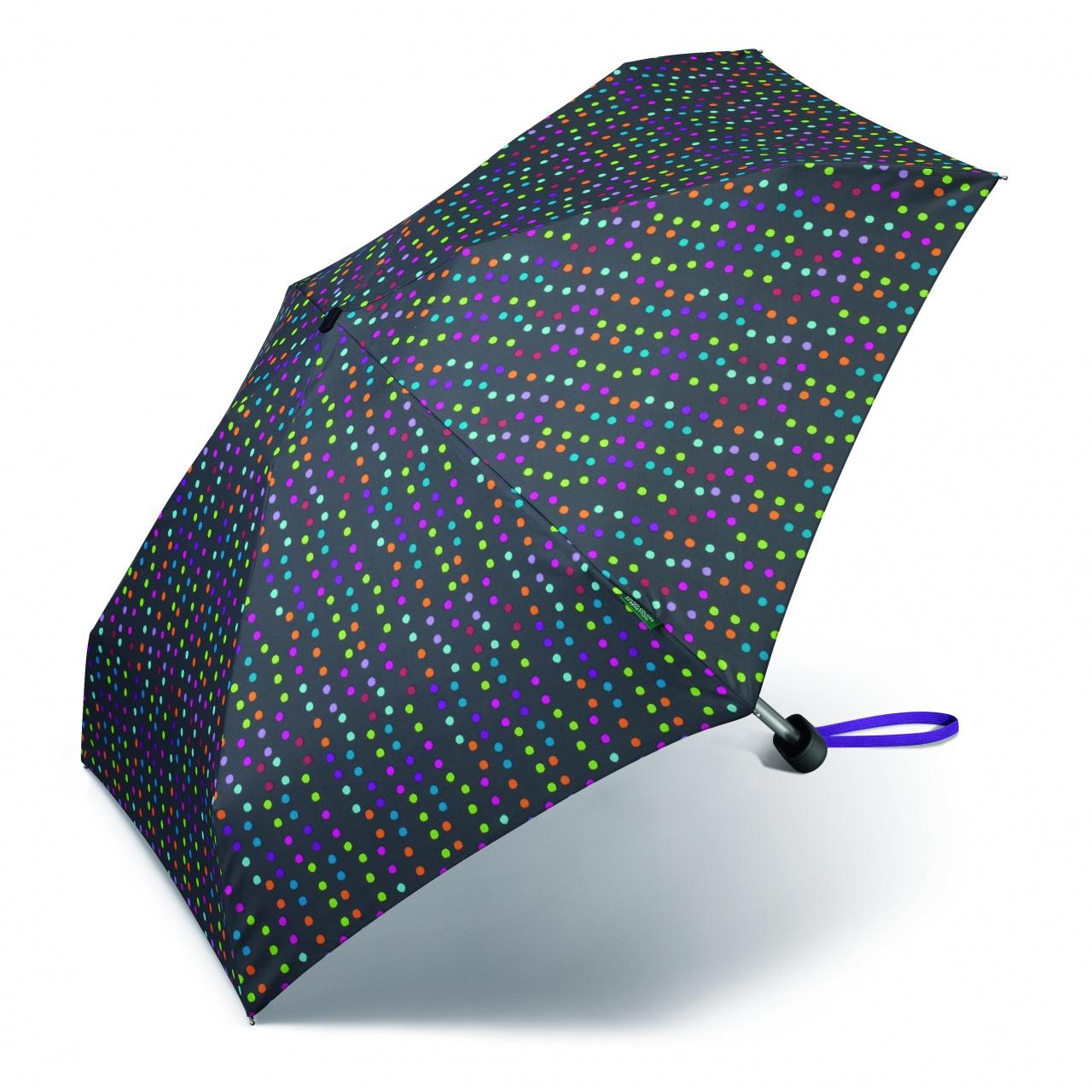 Umbrelă automată ultra mini Benetton Multi Dots