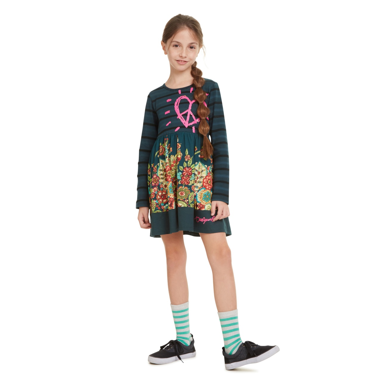 Rochie pentru fetițe Desigual Physalis :: 09/10