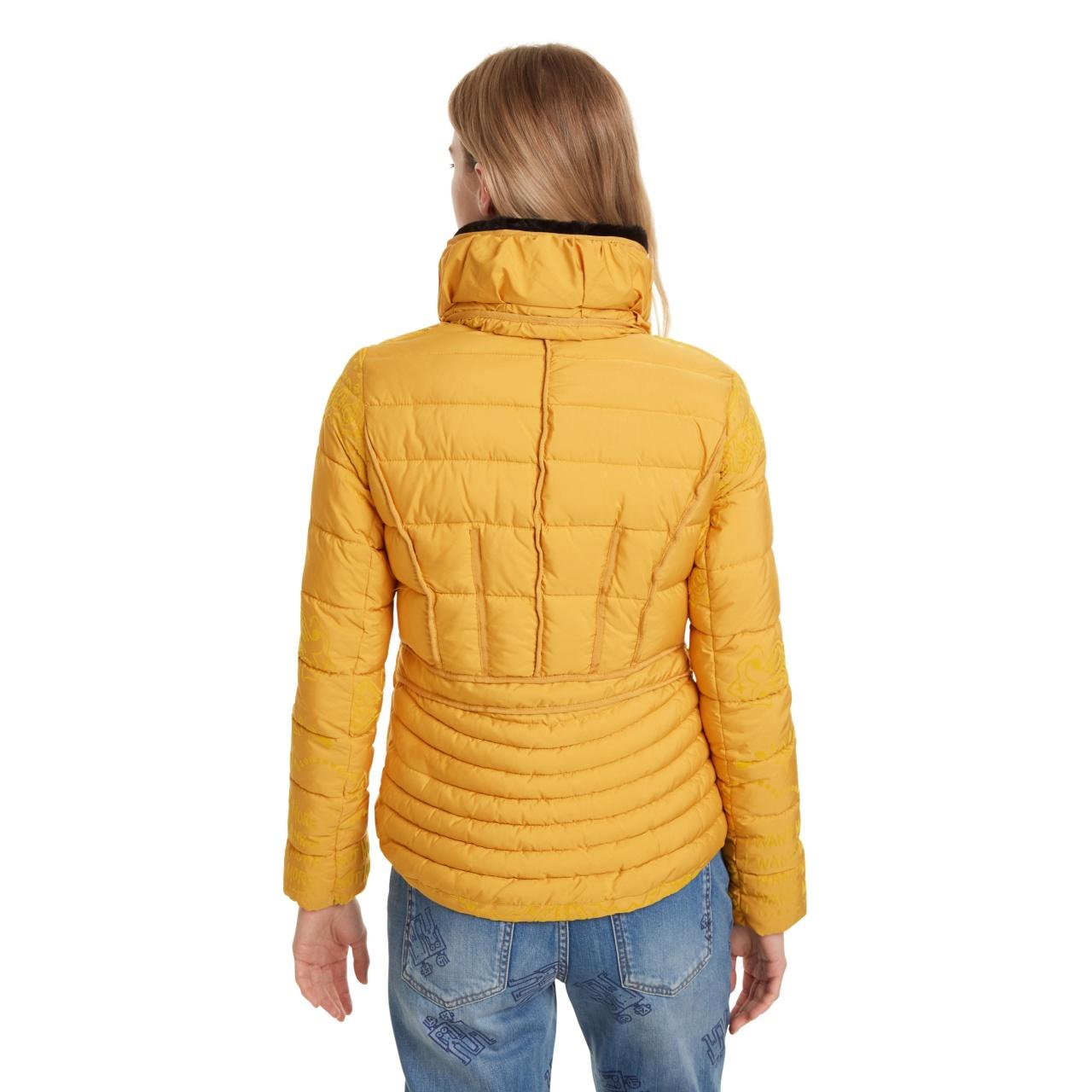 Geacă pentru femei Desigual Padded Sunna galben :: 40