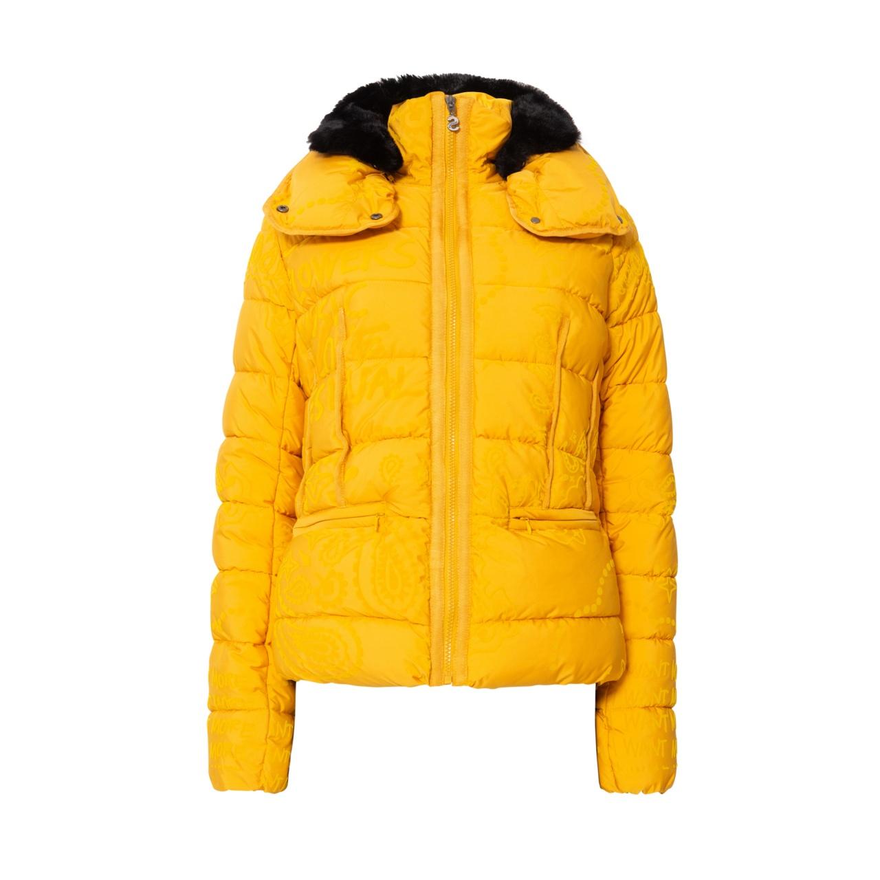 Geacă pentru femei Desigual Padded Sunna galben :: 42