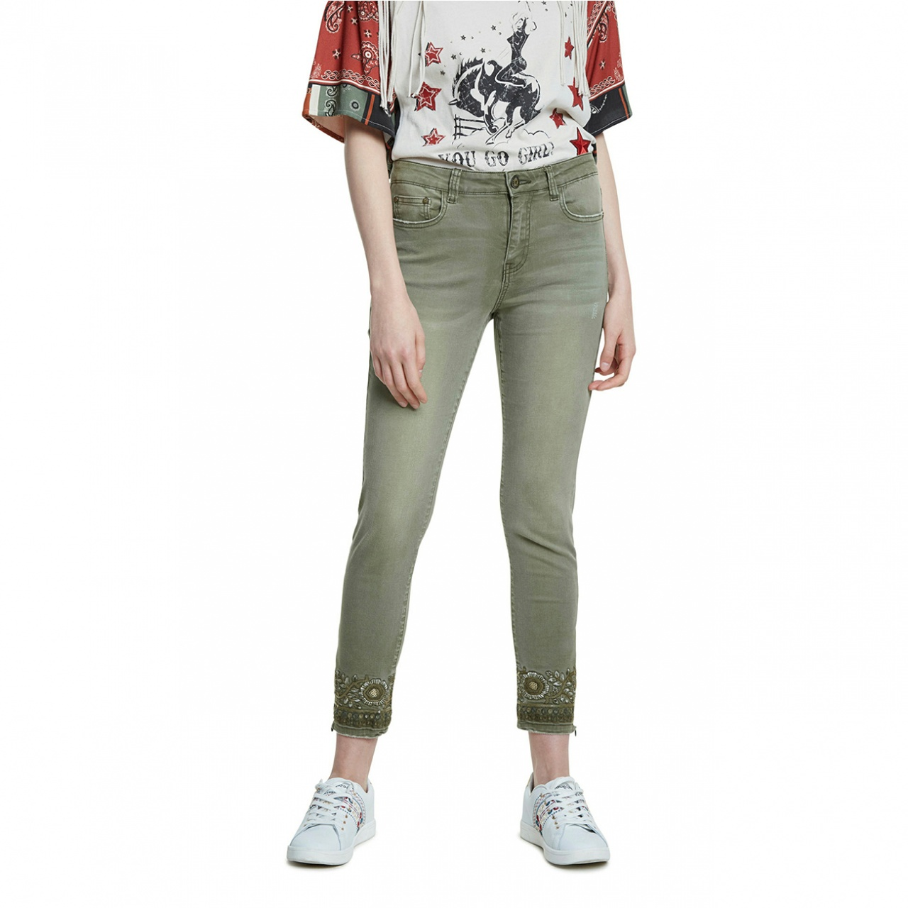 Pantaloni Desigual Oneil :: 46
