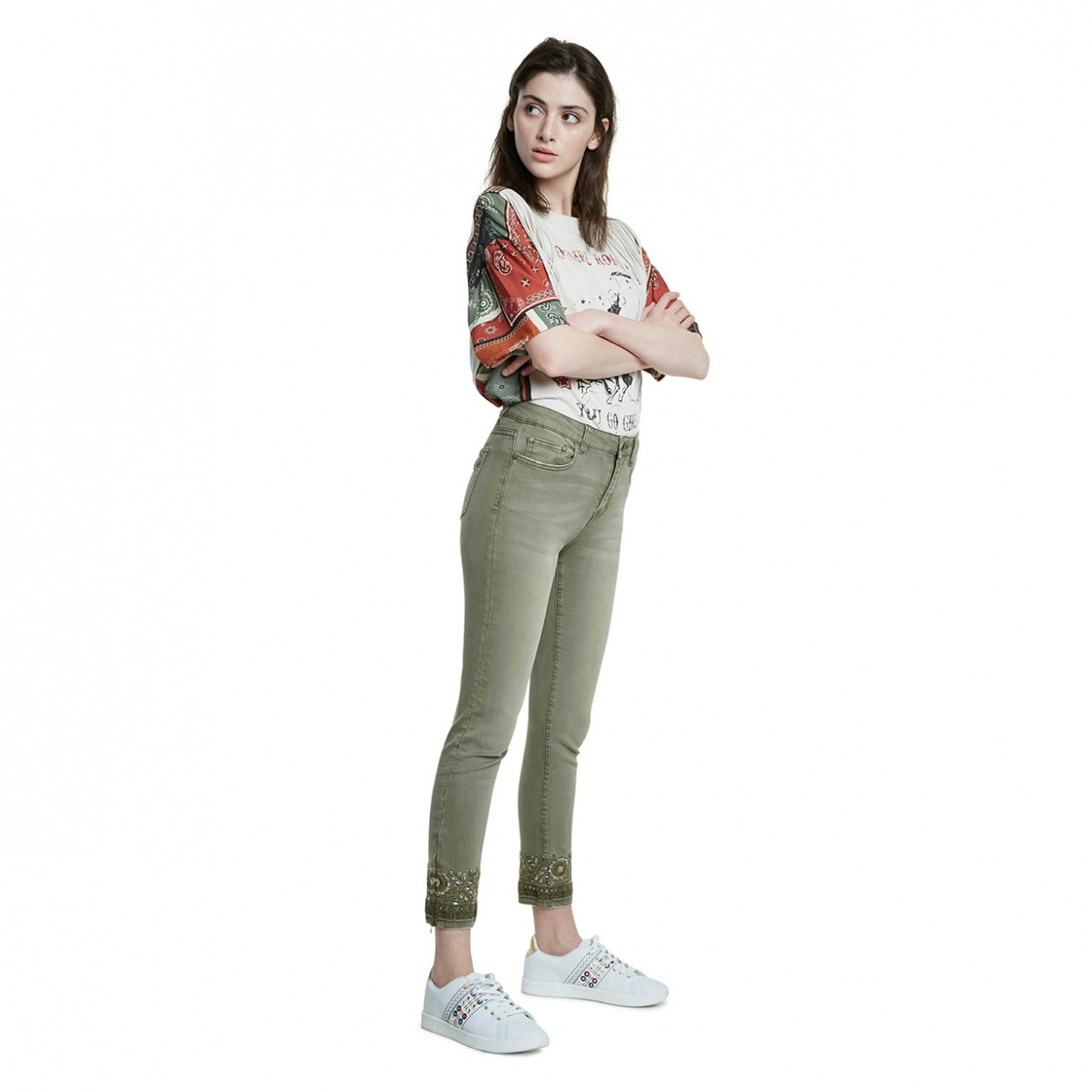 Pantaloni Desigual Oneil :: 38