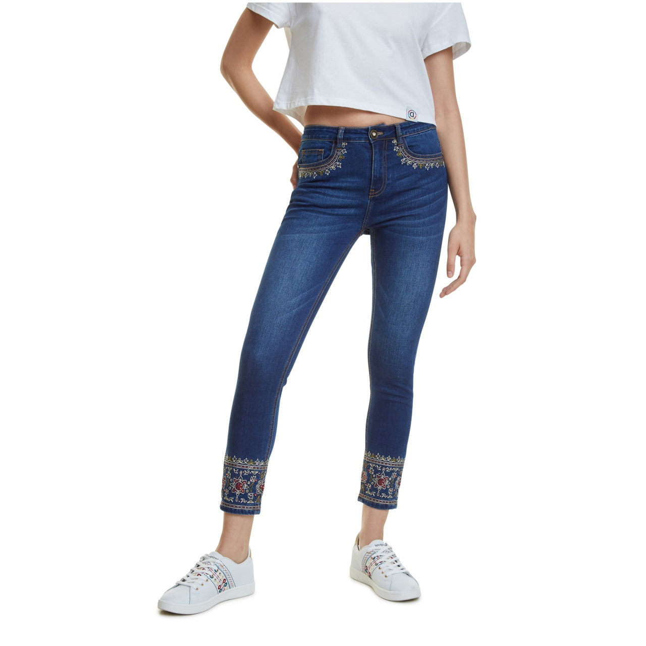 Pantaloni Desigual Denim Floyer :: 26