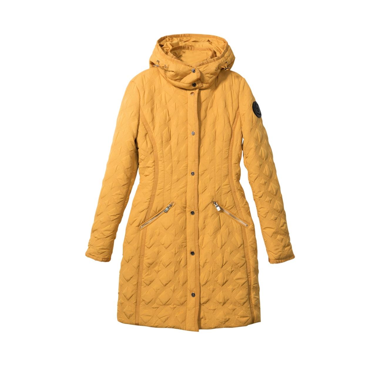Geacă pentru femei Desigual Padded Leicester galben :: 38