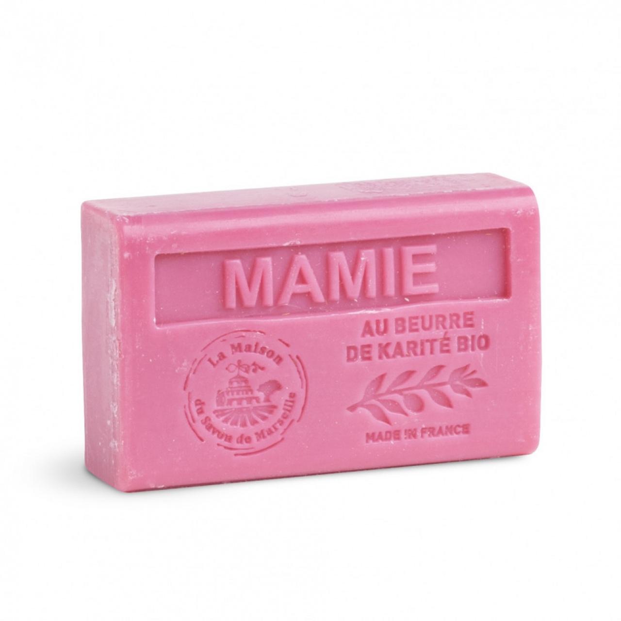 Săpun cu unt shea bio – Mamie, 125g