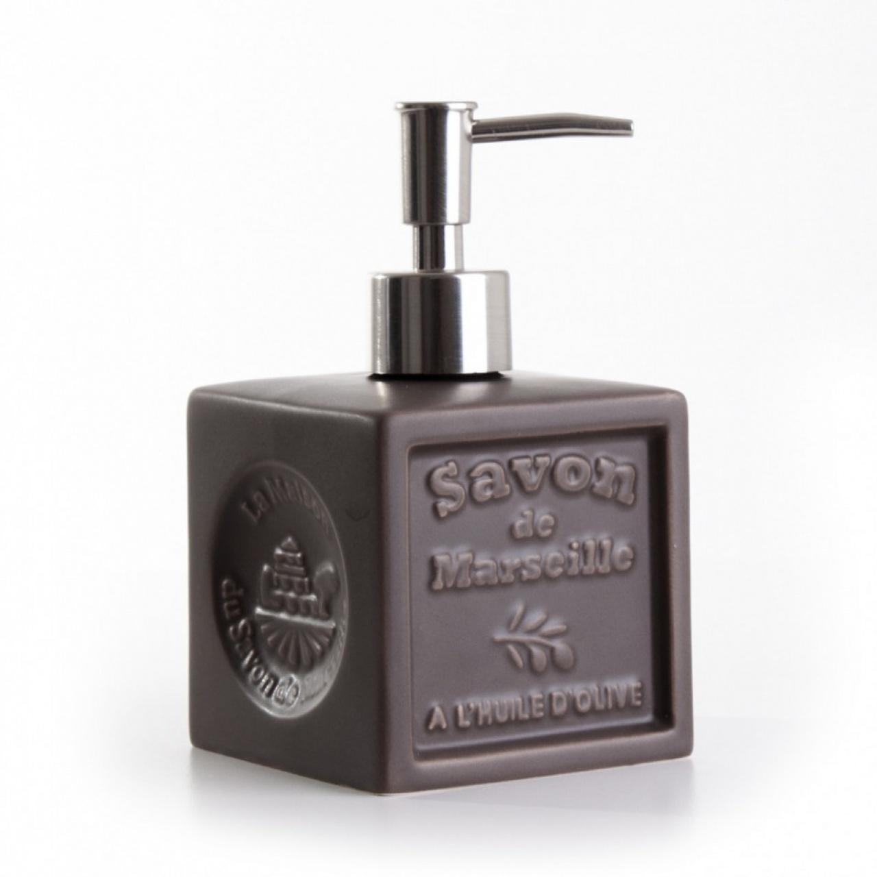 Distribuitor ceramic pentru săpun lichid – Taupe
