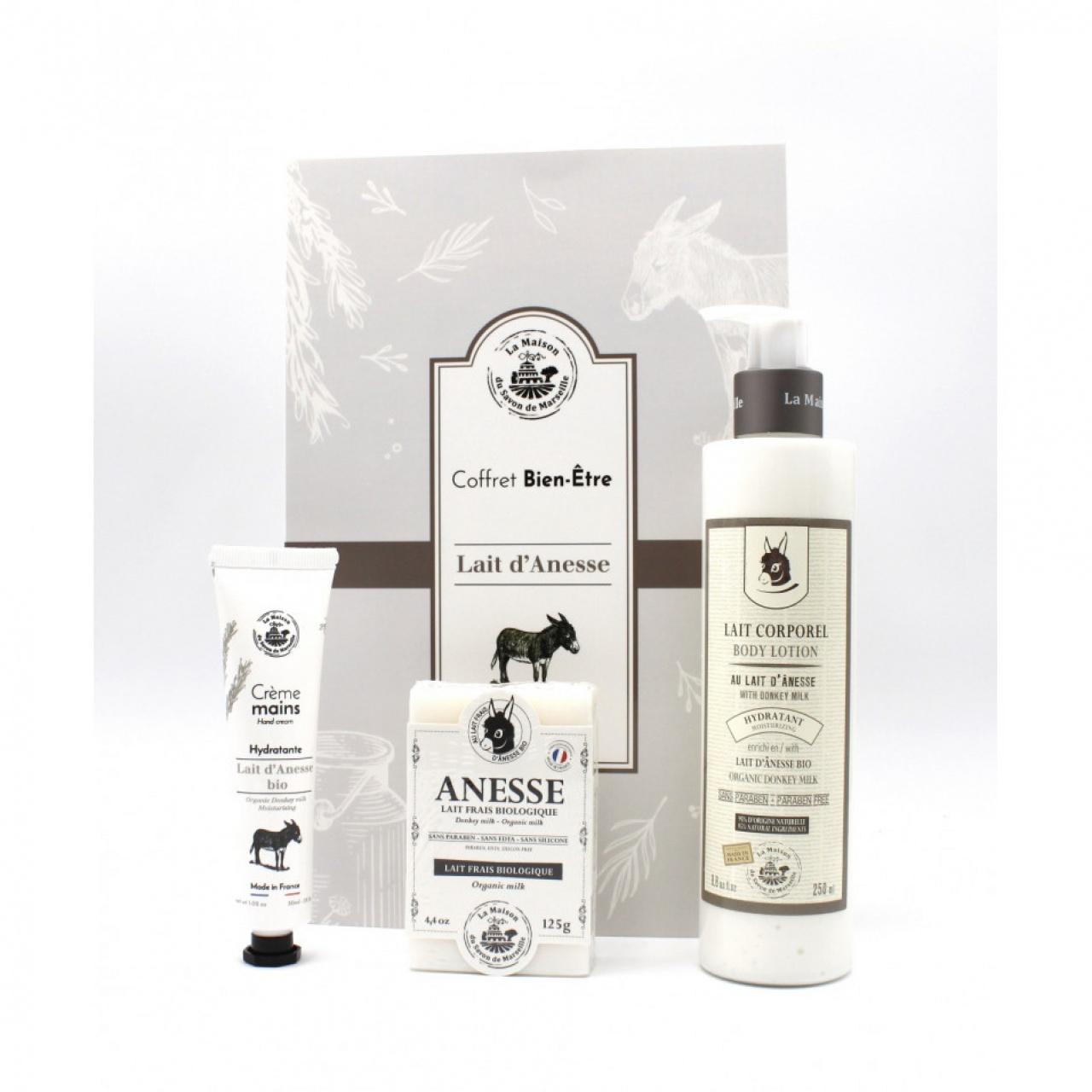 Cofret cadou – Lapte de măgăriță