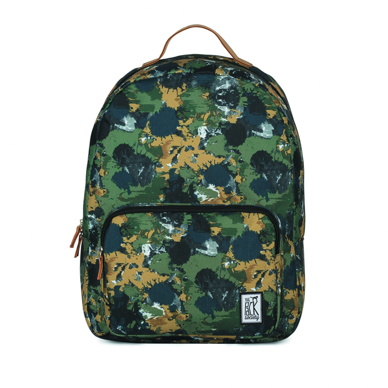 Rucsac clasic The Pack Society Green Camo