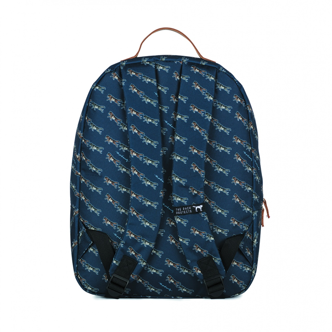 Rucsac clasic The Pack Society Dark Blue Wolf