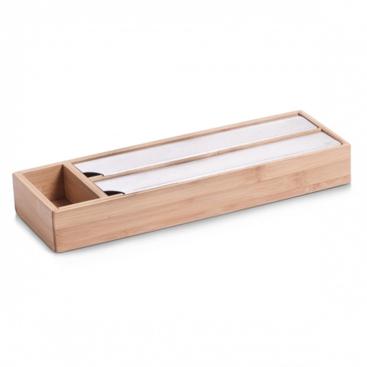 Suport pentru folie și alufolie Zeller din bambus