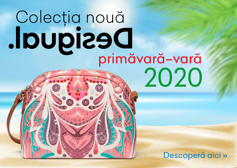 Colecția Desigual primavara-vara 2020