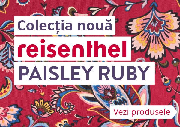 Colecția Reisenthel Paisley Ruby