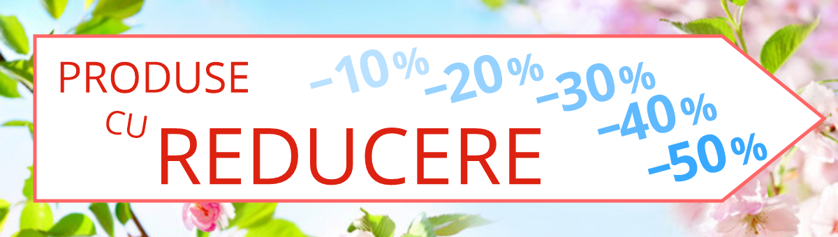 Produse cu reducere -10% -50%